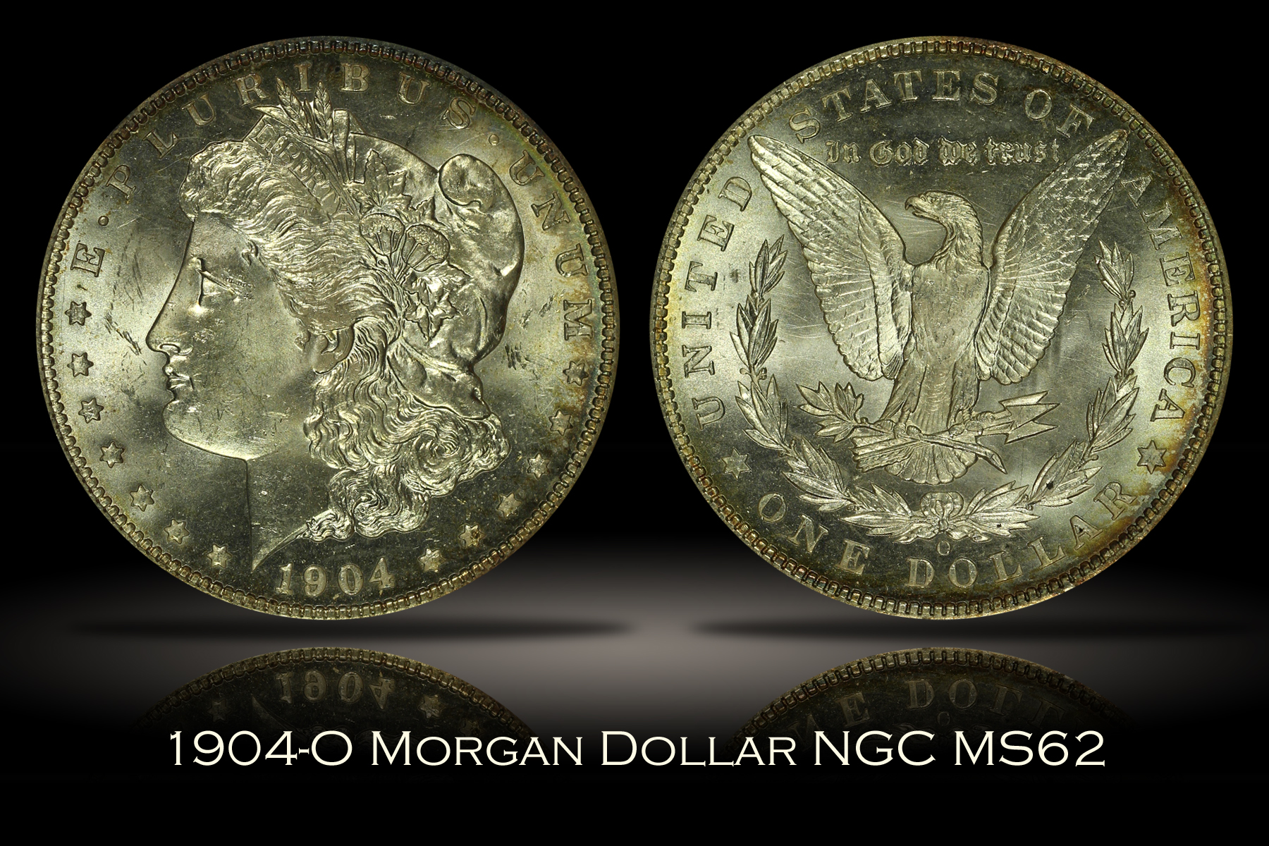 1904-O Morgan Dollar NGC MS62