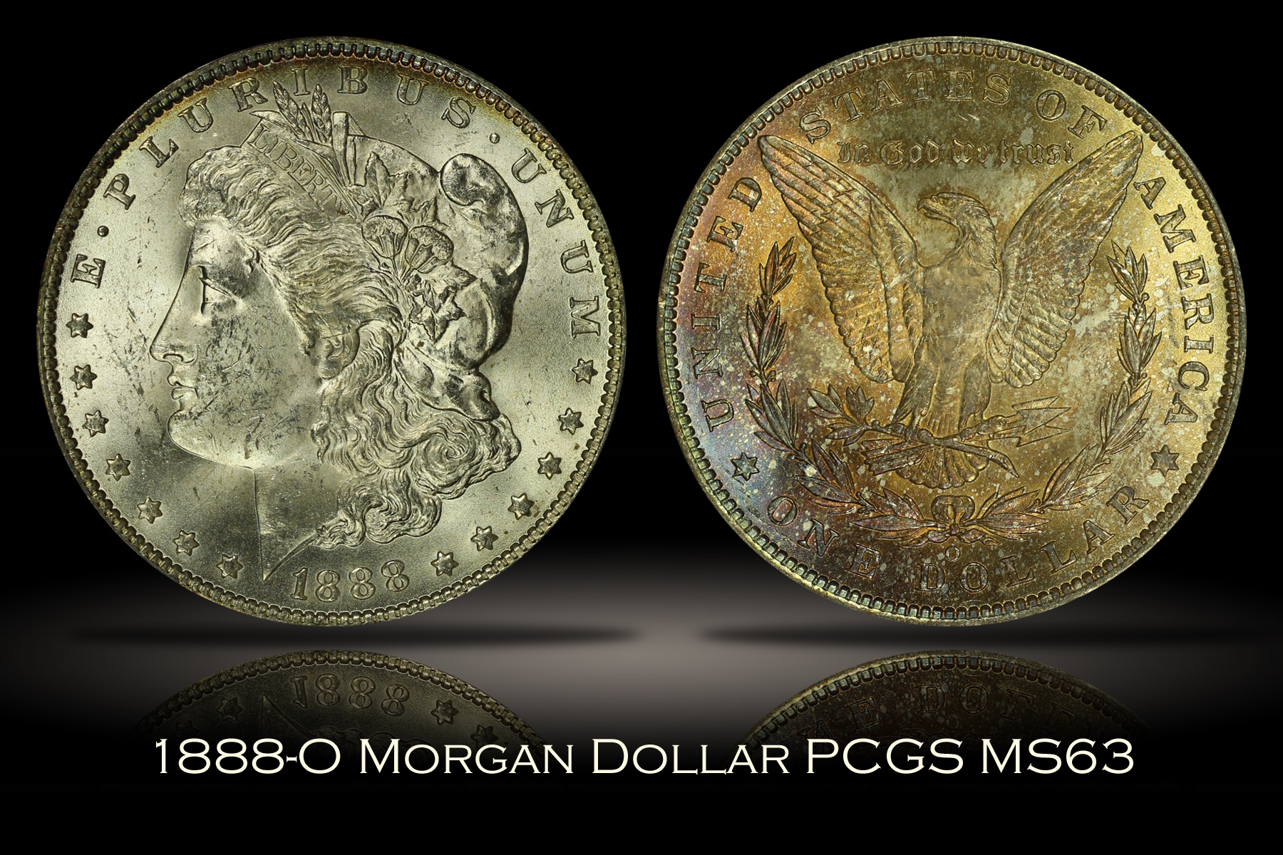 1888-O Morgan Dollar PCGS MS63