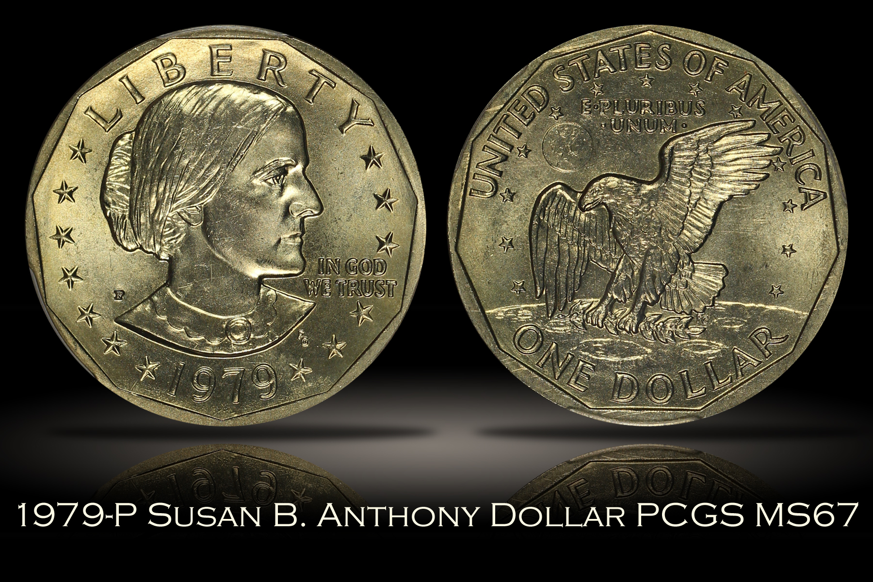 1979-P Susan B. Anthony Dollar PCGS MS67