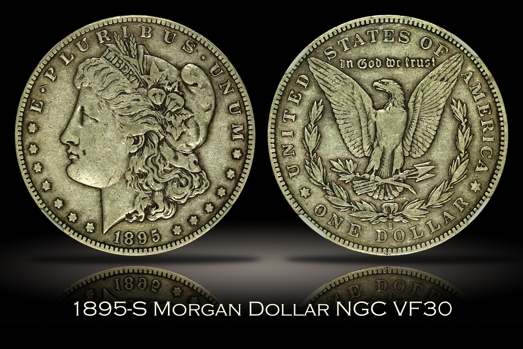 1895-S Morgan Dollar NGC VF30