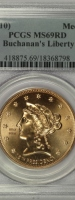 First Spouse Liberty Bronze Medal Set PCGS MS69